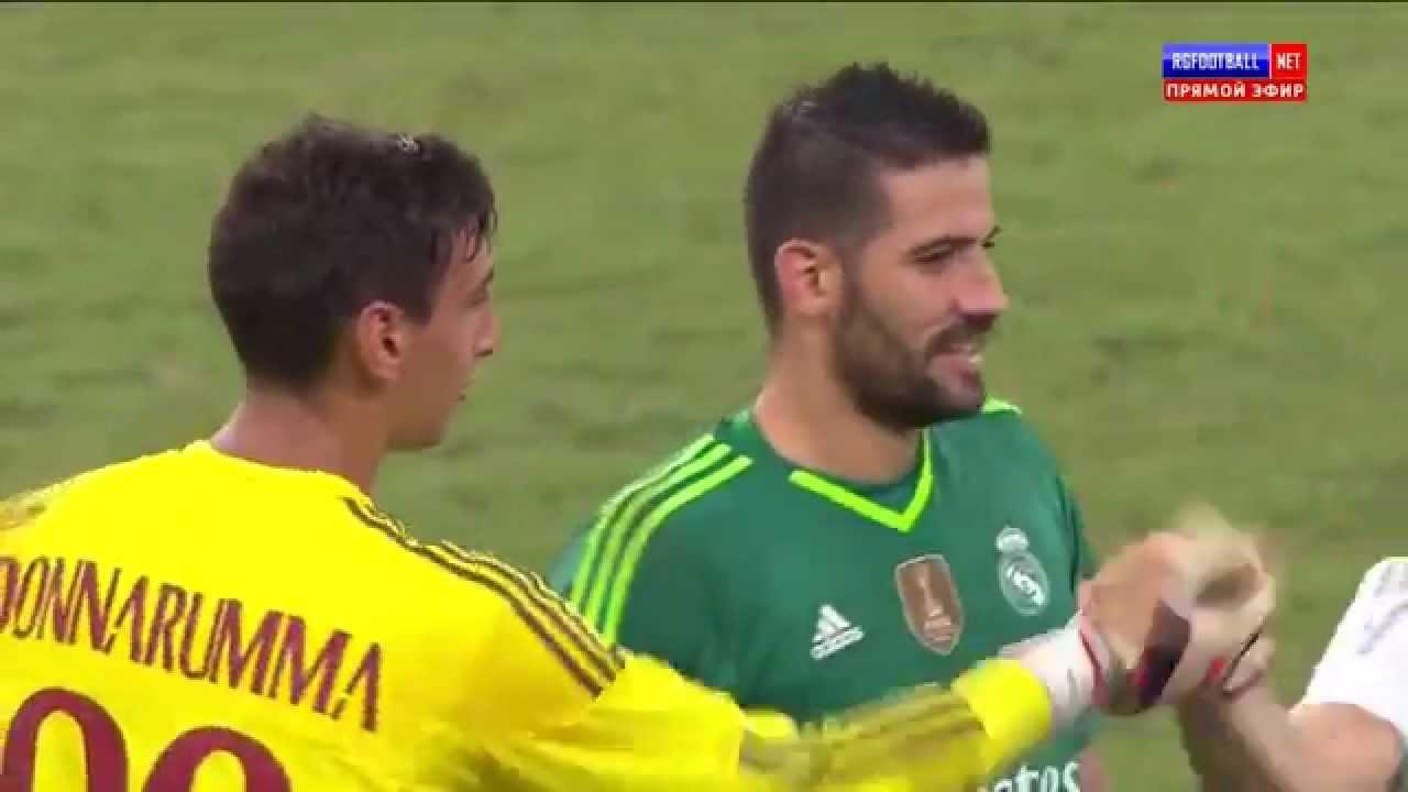 Милан реал футбол