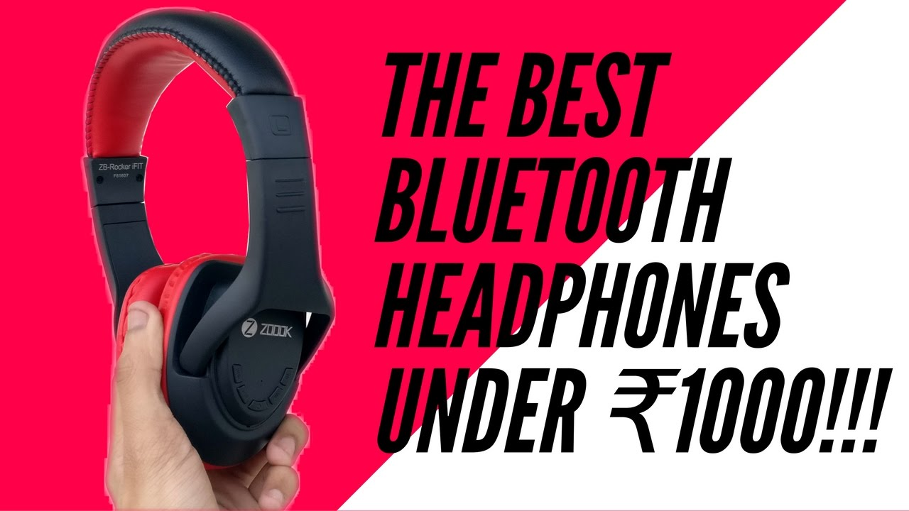 d15f1186452 The Best Bluetooth Headphones under Rs. 1,000! - YouTube
