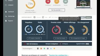 Tutoriel : Tester la vitesse d'une page web et analyse de qualité avec Dareboost.com
