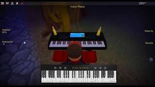 Immortals - AB/AP by: Fall Out Boy on a ROBLOX piano.