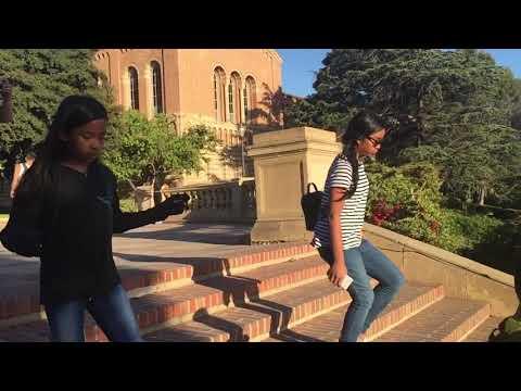 UCLA's famous Bruin Walk