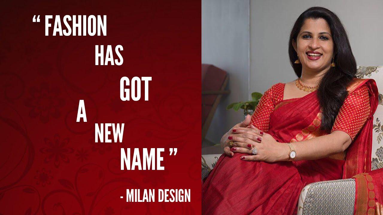 Saree Designer In Kerala Milan Design Youtube