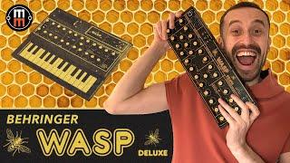 Behringer WASP Deluxe - подробный обзор и демо
