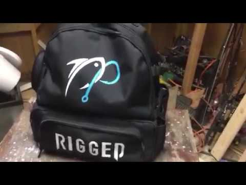 ap fishing backpack review youtube
