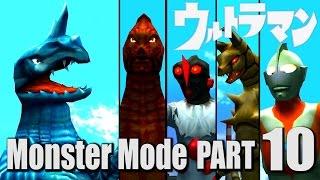 ULTRAMAN PS2 GAME - Monster Mode Part 10 - Aboras ( 1080P HD 60fps )