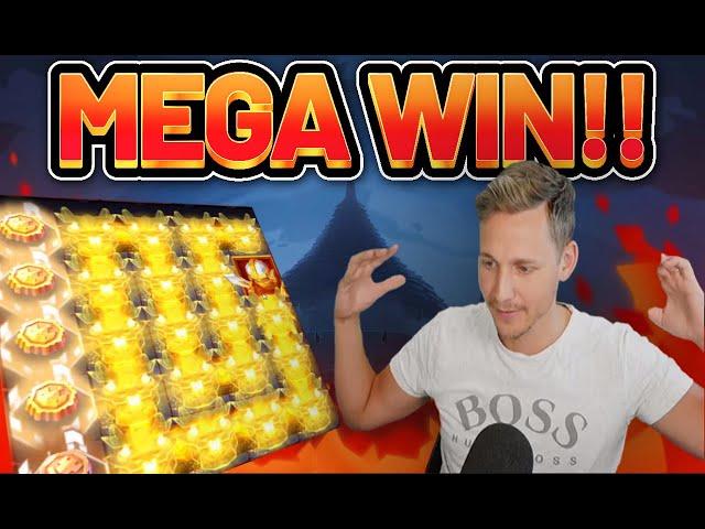 MEGA WIN!! SNAKE ARENA BIG WIN - Online slots from Casinodaddys live stream