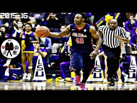 Stefan Moody Full Highlights vs LSU (1-13-16) 33 Pts 4 Asts CURRY-LIKE STROKE