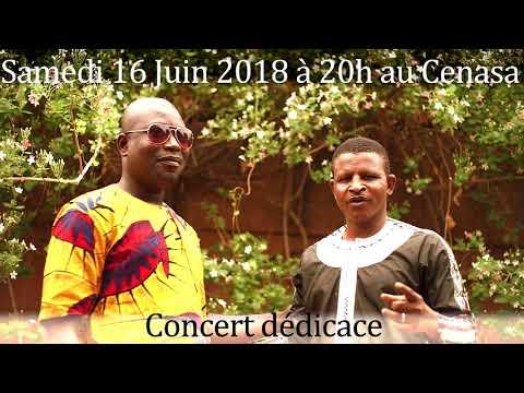 Solo Dja Kabaco Et Dico Fils S'adressent à Leurs Fan Pour Le Concert Du 16 Juin Au Cenasa