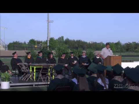 Zeeland West High School Graduation May 29, 2014