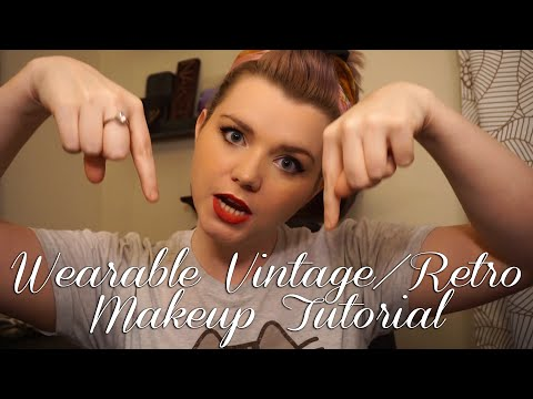 Wearable Retro Look - Get Ready With Me