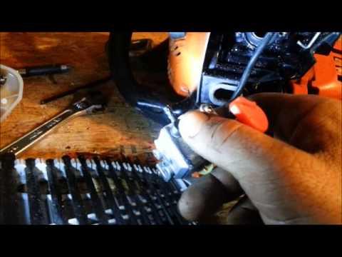 Husqvarna 128 Trimmer Muffler Mod | FunnyDog TV