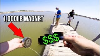 MAGNET Fishing Popular Fishing Spots!!! (Expensive Find!)