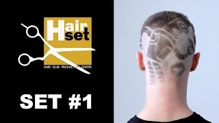 HAIR SET # 1 (окрашивание, накрутка, выбривание рисунков - GB, RU)(Первый выпуск видео-журнала HAIR SET. Содержание первого номера: 1. Осветление корней волос перманентным краси..., 2013-11-07T11:52:55.000Z)