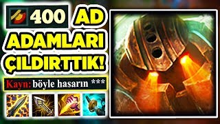 "400 AD NAUTİLİUS İLE KAYN AVLADIK!! ""JUNGLE FARKI"" DEDİRTEN FULL AD NAUTILUS JUNGLE!!!"