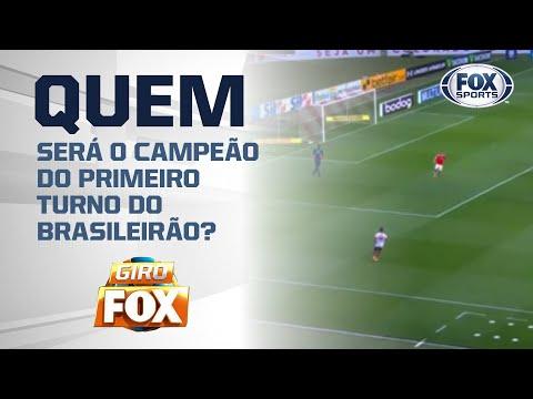 QUEM SERÁ CAMPEÃO DO PRIMEIRO TURNO DO BRASILEIRÃO?  Essa eu quero ver...