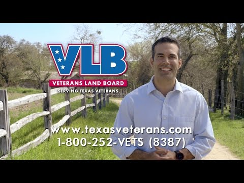 What the VLB Land Loan Means to Texas Veterans 2015 PSA