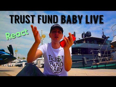 TRUST FUND BABY (LIVE) / Why don't we [Trust Fund Baby LIVE React]