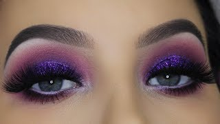JACLYN HILL X MORPHE VAULT | Purple Glam Makeup
