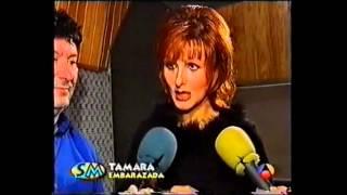 Tamara recibe amenazas a su teléfono móvil