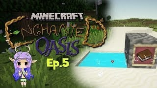 """ESSENCE POOLS"" Minecraft Enchanted Oasis Ep 5"