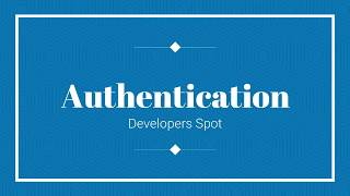Laravel 5.8 Authentication | Developersspot
