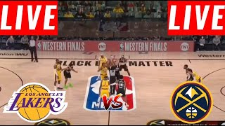 [LIVE] Los Angeles Lakers vs. Denver Nuggets FULL GAME | Game 5 West Finals | NBA Playoff 2020