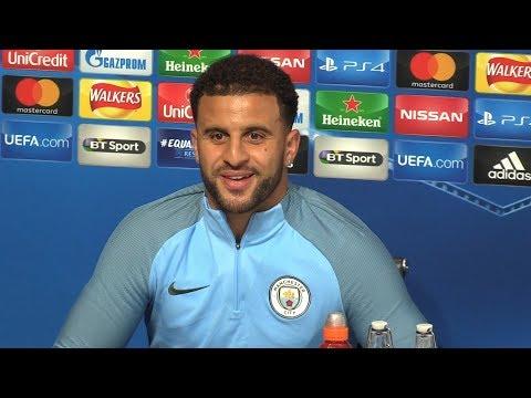 Kyle Walker Full Pre-Match Press Conference - Manchester City v Shakhtar Donetsk - Champions League