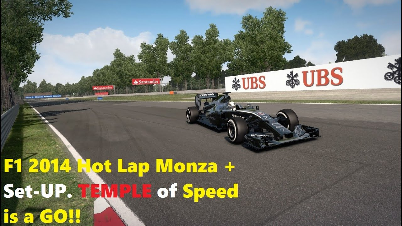 F1 2014 Hot Lap Monza + Set-up - YouTube