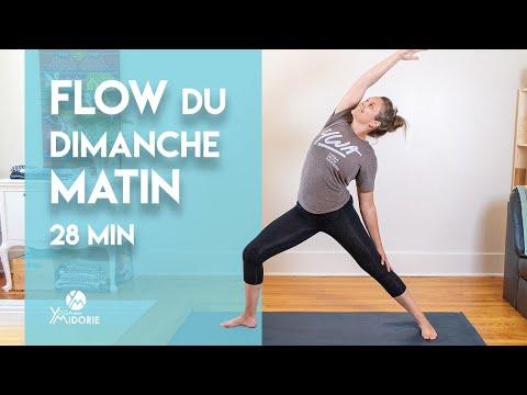 Flow du dimanche matin - 28 min - Yoga avec Midorie (en français)