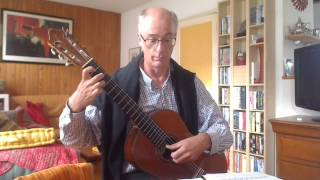 Francisco Tárrega -  Estudio de terceras