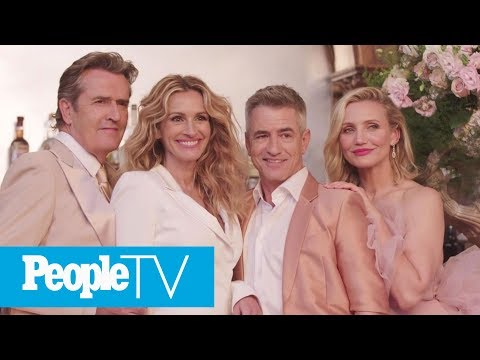 'My Best Friend's Wedding' Cast Reunion: Julia Roberts On The Iconic Film's Legacy | PeopleTV