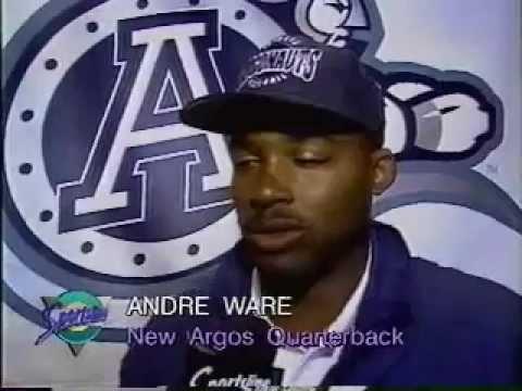 Andre Ware Joins Toronto Argonauts