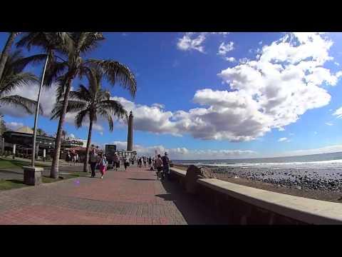Faro de Maspalomas - walk