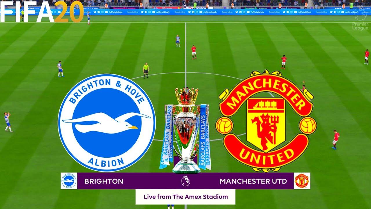 FIFA 20   Brighton vs Manchester United - Premier League - Full Match &  Gameplay - YouTube