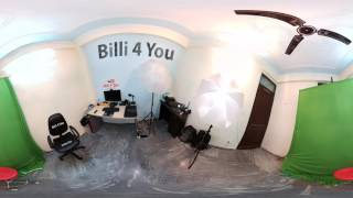 360° Video | Welcome To My Room | My Ultimate Setup Tour | Billi4You