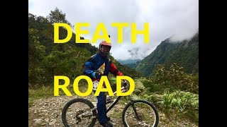 Death road in Bolivia touring③【南米】ボリビア・デスロード(ユンガス道)マウンテンバイクツアー thumbnail
