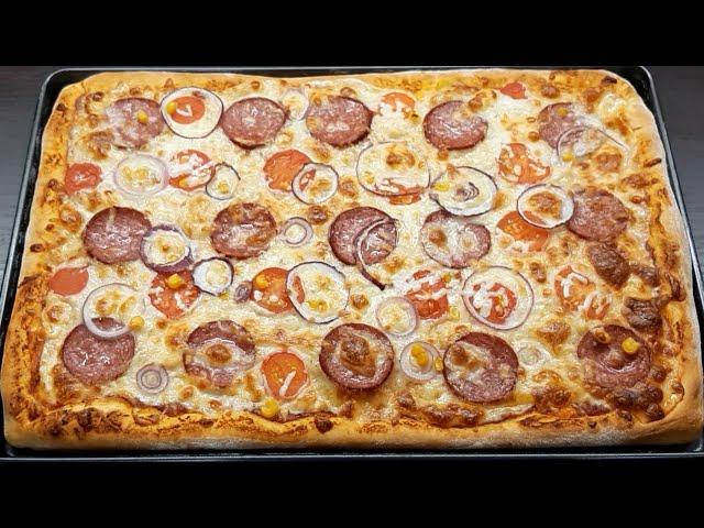 Soba Qabina Sigmayan Qarisiq Pizza Resepti Agizda əriyən Pambiq