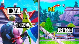 I Asked People To Teach Me To Play Fortnite, Then AMAZED Them... (FUNNY REACTIONS)