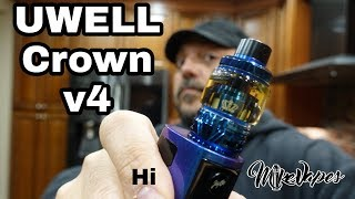 SS904L Coils? Crown v4 Sub Ohm Tank By Uwell - Mike Vapes