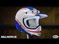 Bell Helmets Moto-3 RSD Malibu Blue/White