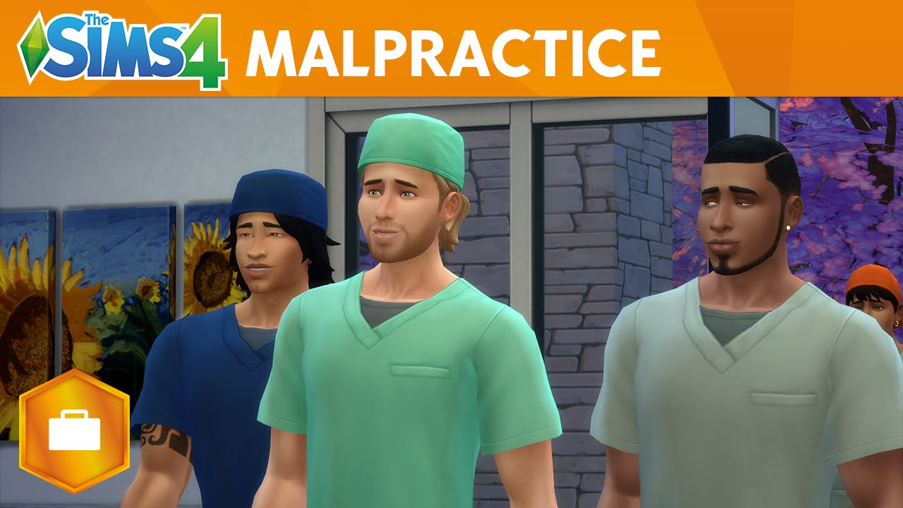 The Sims 4 Get to Work: Malpractice