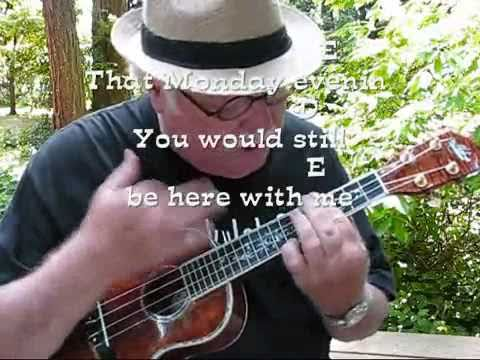 MONDAY, MONDAY for the UKULELE : UKULELE LESSON / TUTORIAL by