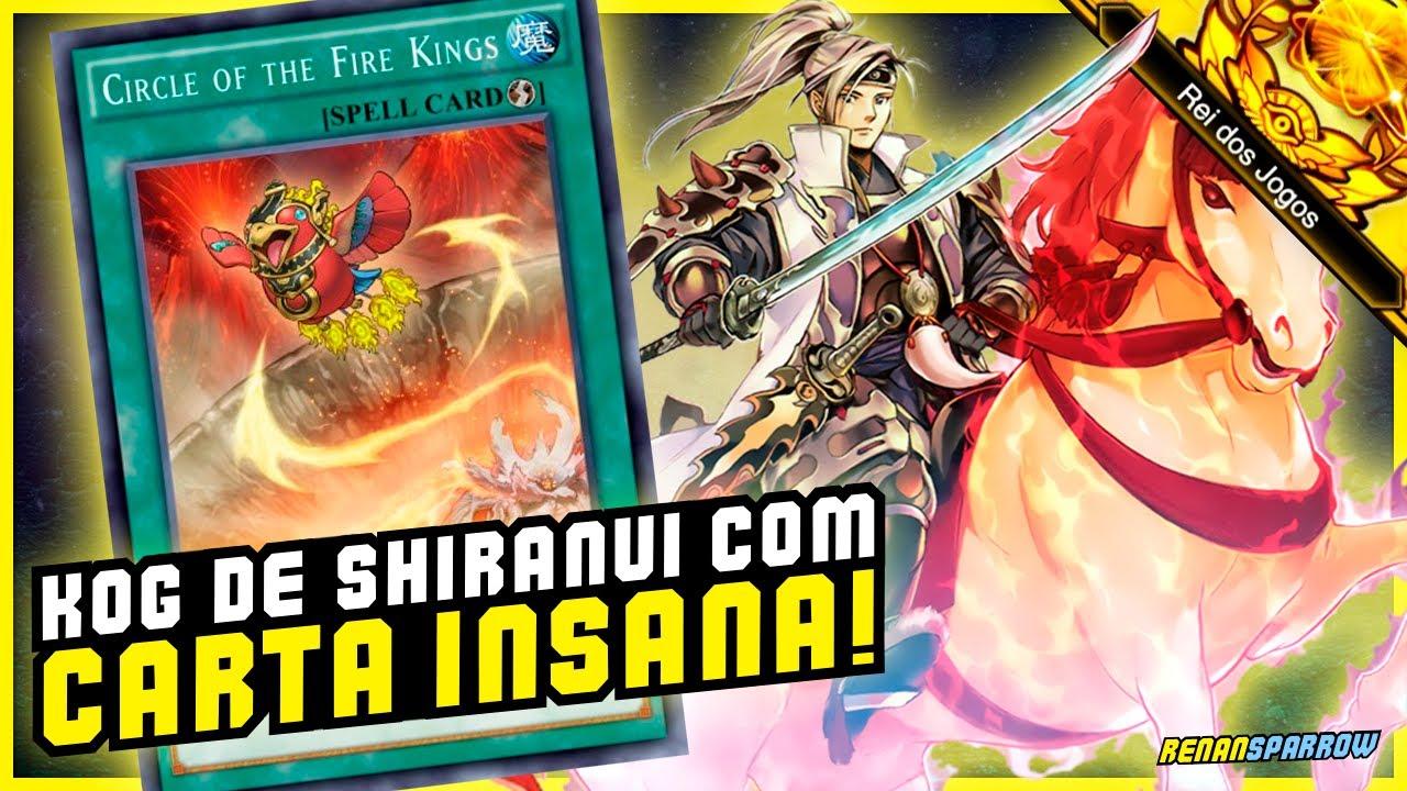 QUEBRADO: CARTA DO ESTRUTURAL DEIXOU SHIRANUI + INSANO! - Yu-Gi-Oh! Duel Links #1099