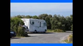 Vidéo en camping car cap blanc nez le 13 août 2016