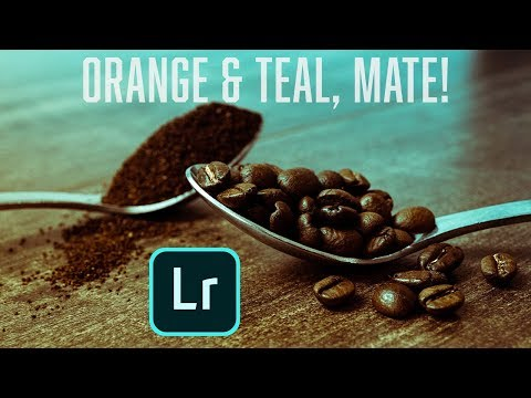 Adobe Lightroom Tutorial - 2 ways to quickly get the Orange and Teal look (+ FREE PRESET) thumbnail