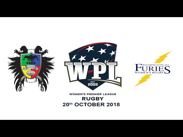 2018 WPL - Atlanta Harlequins vs. D.C. Furies (10/20/18)