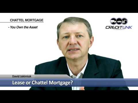 Lease or Chattel Mortgage? Creditlink Australia