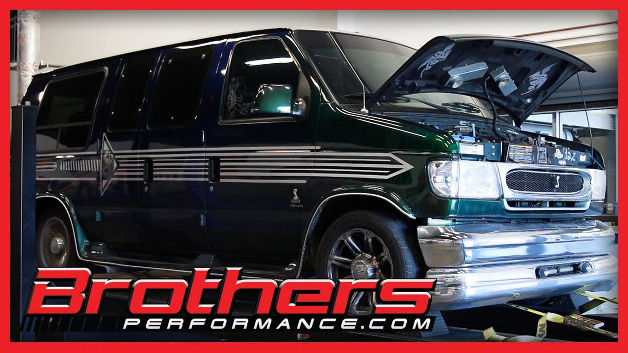 small resolution of 1998 ford econoline van 4 6l cobra dohc engine dyno test at brothers performance