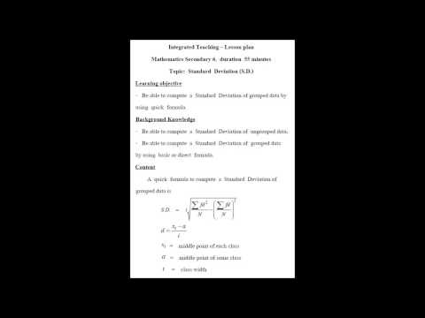 สมบูรณ์ ทองพลาย แผนการสอนคณิตศาสตร์ แผนที่ 1