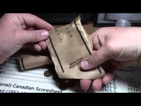 Opening Old Estate Wheat Penny Rolls Off Ebay